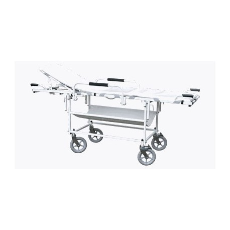 Vozík transportní s nosítky VSN 94-04-B + bočnice