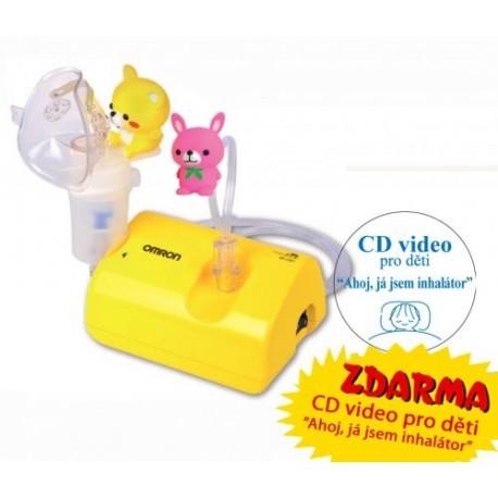 OMRON C801-KD - dětský kompresorový inhalátor