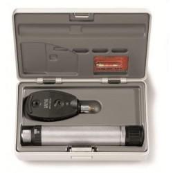 Oftalmoskop HEINE BETA 200s set oftalmo s rukojetí, aku a nabíječkou - 3,5V