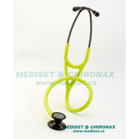 Fonendoskop LITTMANN® 3161 - SMOKE FINISH CP& EARTUBES - LEMON-LIME TUBE - Cardiology III stetoskop