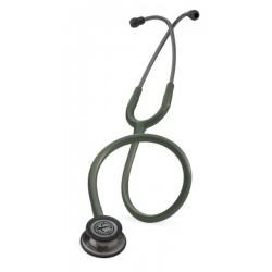 Fonendoskop LITTMANN® 5812 - barva tmavě olivově zelená - kouřová elice - Classic III stetoskop