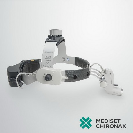 Operační čelní LED světlo HEINE ML4 LED - s UNPLUGGED akumulátorem