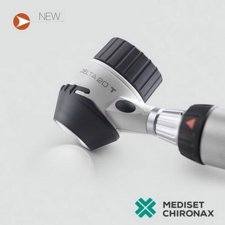 Dermatoskop Heine DELTA 20 SET s rukojetí, akumulátorem a transformátorem - 3,5V