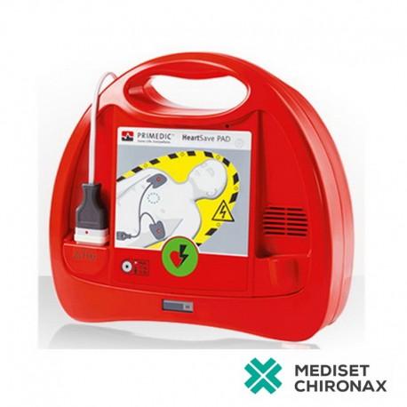 Primedic HeartSave PAD - automatizovaný externí defibrilátor, bifázická CCD