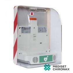 SaveBox - nástěnný box pro defibrilátor Primedic AED HeartSave - s alarmem