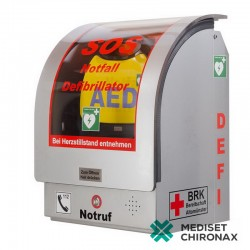 AED Wall-Case W5200 GSM - vnitřní nástěnný box pro defibrilátor Primedic AED HeartSave - s alarmem
