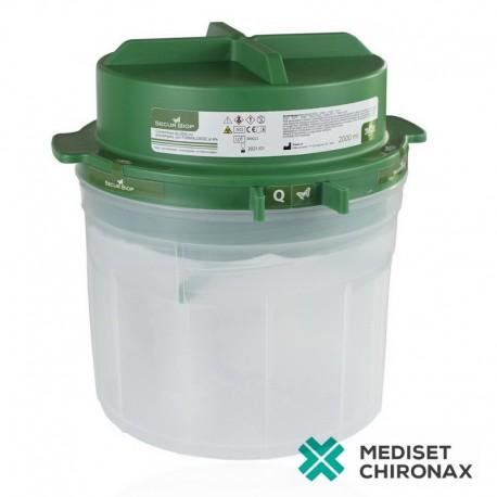 SECURBIOP 900ml - kontejner pro bioptické vzorky - předplněná nádoba 10% NBF - balení 4 ks