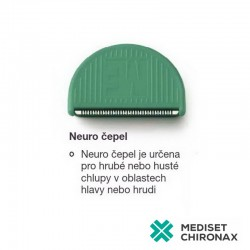 Neuro čepelky - 25 ks - pro profesionální chirurgický zastřihovač - clipper Me Medical