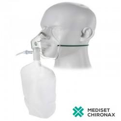 Vysokokoncentrační maska pro dospělé bez hadičky