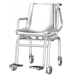 SECA 956 - Elektronická sedací váha