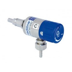 Mediflow ULTRA II 6 - průtokoměr okénkový, 0 - 6 l/min, kyslík